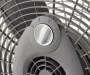 "20"" Silver 3-Speed Power Fan Silo Image Close Up"