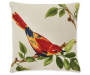 20 IN GARDEN BIRD TOSS PILLOW