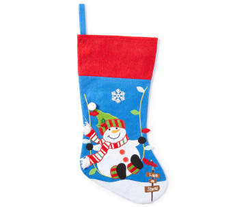 non combo product selling price 25 original price 25 list price 25 - Blue Christmas Stocking