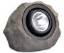 20x Brighter Solar Rock LED Spotlight silo angled