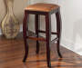 24 inches Backless Barstool with Square Caramel Top lifestyle