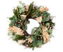 24IN HARVEST WREATH WITH CORNLEAVES