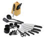 26 Piece Cutlery Set Knives Displayed Silo Image