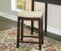 26 inches Clay Walnut Barstool lifestyle