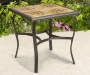 27.5 IN SQ. TILE TOP BISTRO TABLE