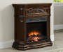 28 inch Cherry Petite Foyer Electric Fireplace lifestyle