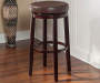 29 inches Clea Brown Pub Barstool lifestyle