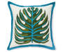 2O IN TROPICAL LEAF OUTDOOR TOSS PILLOW