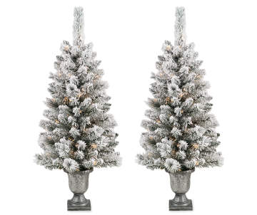 led - Big Lots White Christmas Tree