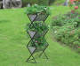 3 TIER GALVANIZED METAL PLANTER