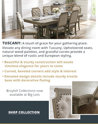Shop Broyhill Tuscany dining collection