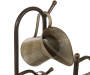 "33.25""H Farmhouse Galvanized Metal Pitchers Fountain"