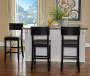 37 inches  Black Contemporary Barstool lifestyle