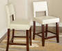 38 inches White Open Back Barstool lifestyles