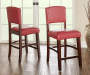 39 inches Red Classic Barstool with Open Back lifestyle