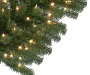 4 Yuletide Green Pre Lit Artificial Christmas Tree with Clear Lights silo front branch