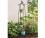4-Tier Bird Solar Globe Light Plant Stand