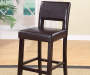 44 inches Brown Open Back Barstool lifestyle
