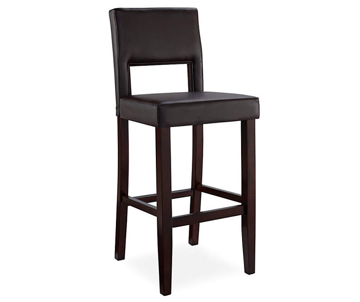 Faux Leather High Back Bar Counter Stools Big Lots