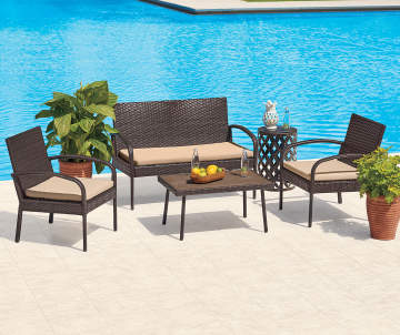 Patio & Outdoor Furniture | Big Lots on Outdoor Sectional Big Lots id=99153