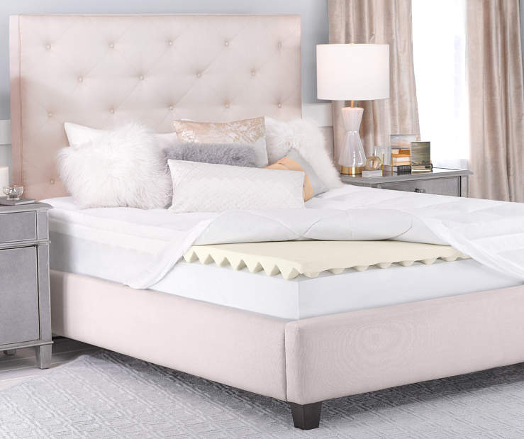 5 inch Queen Memory Foam Mattress Topper lifestyle