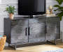 55IN 3 DOOR BROWN TV STAND