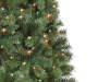 6  Sentiments Pre Lit Artificial Christmas Tree with Clear Lights silo front with lights