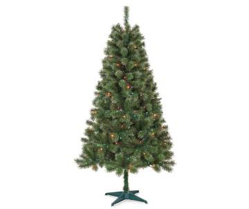 shop 5 and 6 pre lit artificial christmas trees big lots
