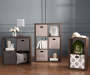 6-Cube Brown Storage Cubby