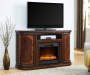 60IN CHERRY CONSOLE FIREPLACE