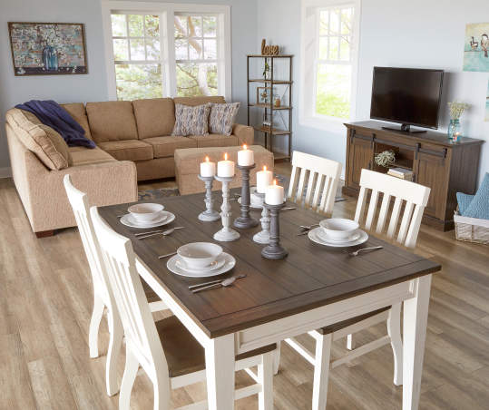 Stratford Caylie Farmhouse Dining Table Big Lots
