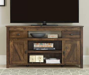 Ameriwood 60 Rustic Brown Tv Stand