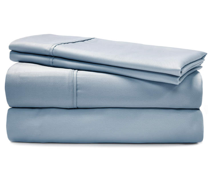 620TC DENIM BLUE COOLING SHEETS QUEEN