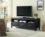 65IN 3 DRAWER BLACK MELAMINE TV STAND