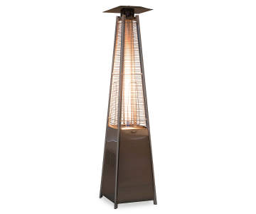 Wilson Fisher Outdoor Pyramid Gas Flame Heater 7 Big Lots