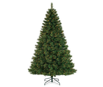 non combo product selling price 2300 original price 2300 list price 2300 - White Pre Lit Christmas Trees
