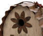7.09''L Distressed Solid Wood Birdhouse