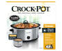 8 Quart Manual Slow Cooker with Dipper silo front package view
