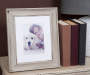 8X10 WHITE WASH SCOOP FRAME NVO