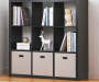 9 Cube Black Storage Cubby lifestyle
