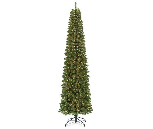 Winter Wonder Lane 9 Big Bear Pencil Pre Lit Artificial Christmas Tree With Clear Led Micro Lights Big Lots