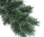 9 feet Steamboat Pre Lit Cashmere Artificial Christmas Tree with Clear Lights silo front