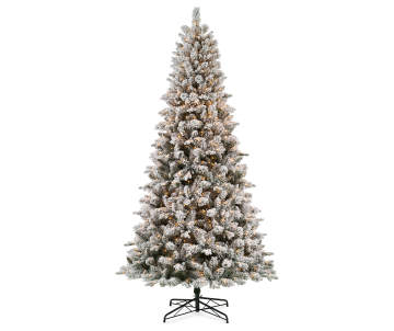 save on pre lit christmas trees with white lights big lots - Big Lots White Christmas Tree
