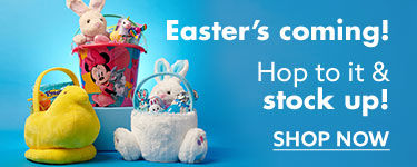 Easters coming! Hop to it and stock up shop now