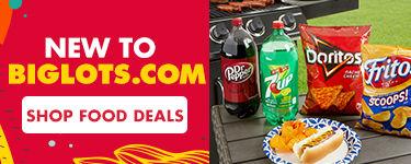 New to Biglots.com. Shop Food Deals.