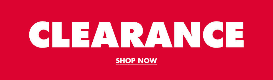 Clearance. Shop Now.
