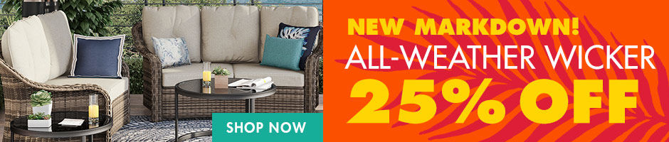 25 Percent Off Weather Wicker Patio Furniture