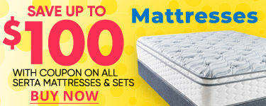 Save up to 100 dollars on Select Mattresses. Buy Now.