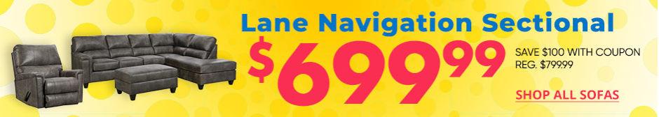 Lane Navigational Sofa. Save up to 100. Shop All Sofas.