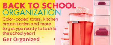 Back to School Organization. Get Organized